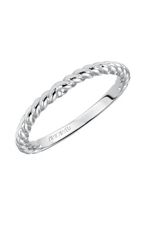 ArtCarved Contemporary Wedding band 31-V548W-L product image
