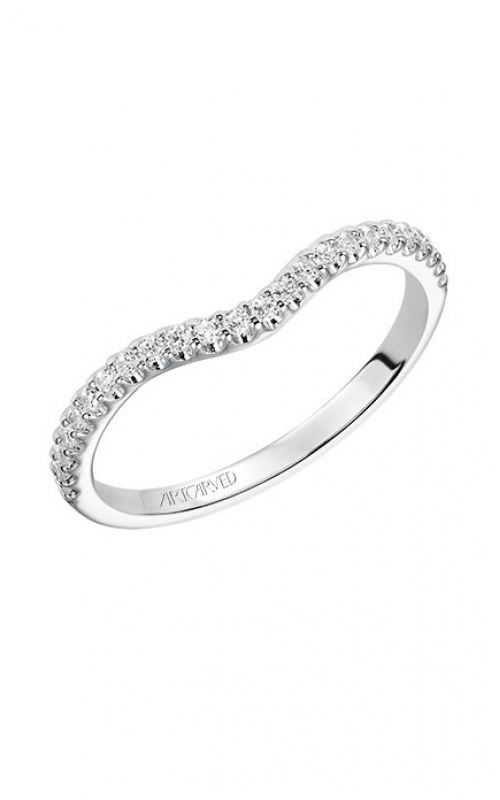 ArtCarved Contemporary Wedding band 31-V549EMW-L product image