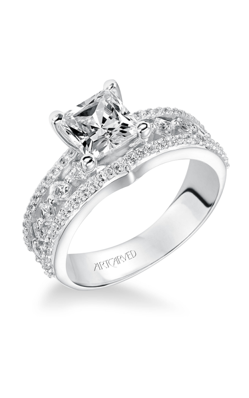 ArtCarved Contemporary Engagement ring 31-V208FCW-E product image