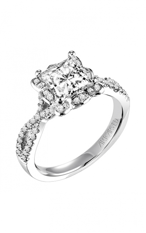 ArtCarved Engagement ring Contemporary 31-V339GCW-E product image