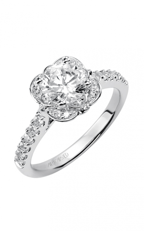 ArtCarved Engagement ring Contemporary 31-V342ERW-E product image