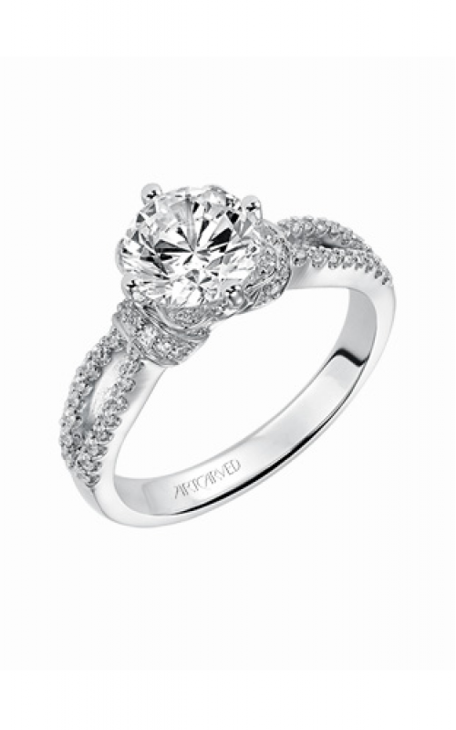 ArtCarved Contemporary Engagement ring 31-V337GCW-E product image