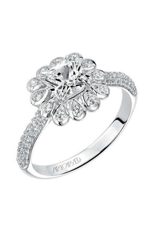 ArtCarved Contemporary Engagement ring 31-V539EUW-E product image