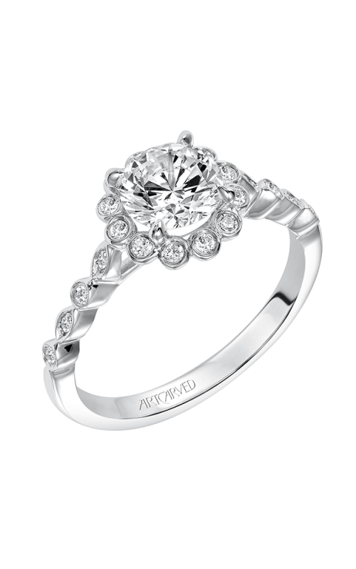 ArtCarved Contemporary Engagement ring 31-V563ERW-E product image