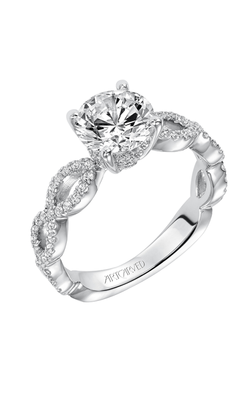 ArtCarved Engagement ring Contemporary 31-V576FRW-E product image