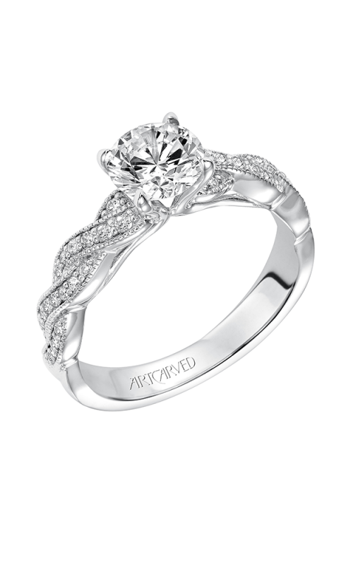 ArtCarved Contemporary Engagement ring 31-V578ERW-E product image