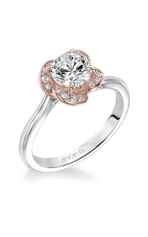 ArtCarved Contemporary Engagement ring 31-V582ERR-E product image