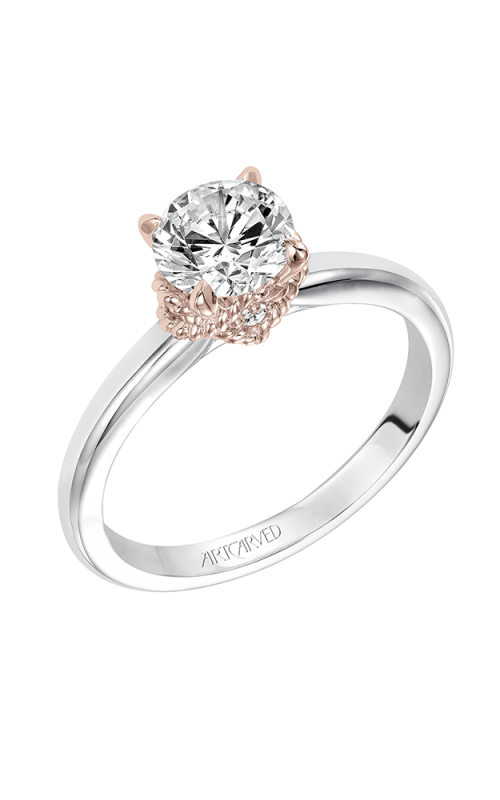 ArtCarved Contemporary Engagement ring 31-V584ERR-E product image