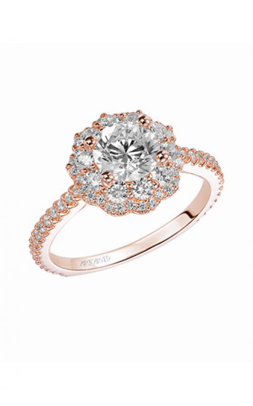 ArtCarved Contemporary Engagement ring 31-V449DRW-E product image