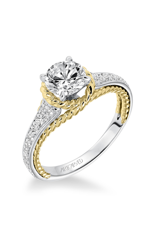 ArtCarved Contemporary Engagement ring 31-V587ERA-E product image