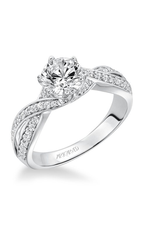 ArtCarved Contemporary Engagement ring 31-V593ERW-E product image