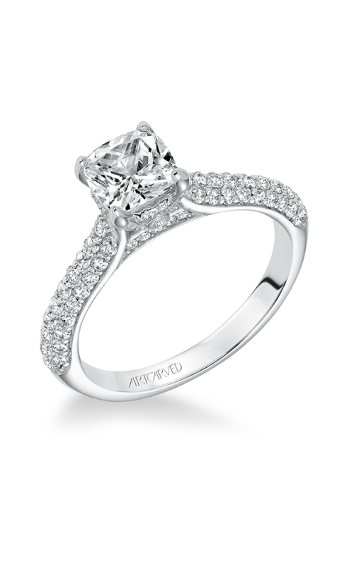 ArtCarved Contemporary Engagement ring 31-V606FUW-E product image