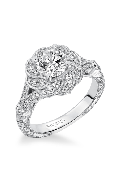 ArtCarved Contemporary Engagement ring 31-V636FRW-E product image