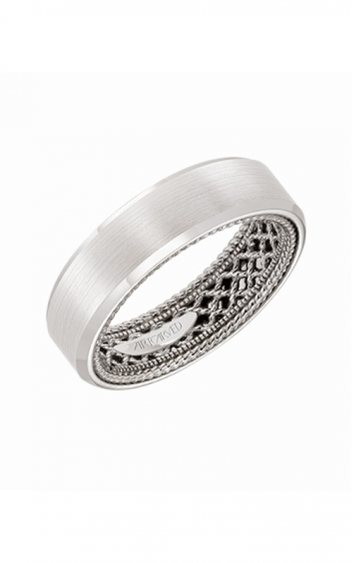 ArtCarved Wedding band Engraved 11-WV25W6-G product image