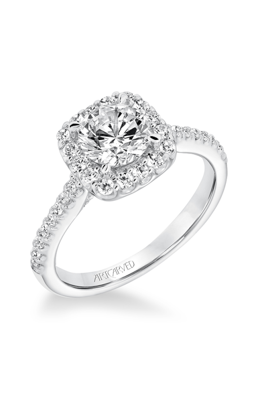 ArtCarved Classic Engagement ring 31-V644ERW-E product image