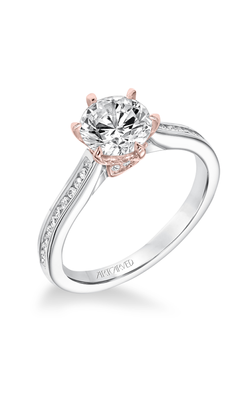 ArtCarved Classic Engagement ring 31-V649FRR-E product image
