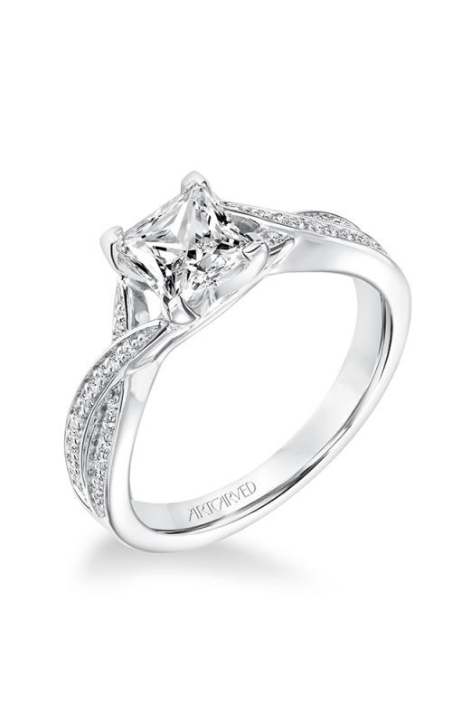 ArtCarved Engagement ring Contemporary 31-V656ECW-E product image