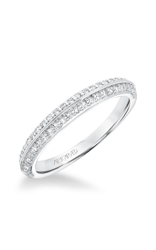 ArtCarved Classic Wedding band 31-V661W-L product image