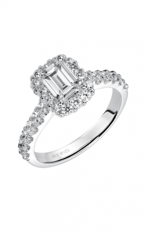 ArtCarved Classic Engagement ring 31-V439EEW-E product image
