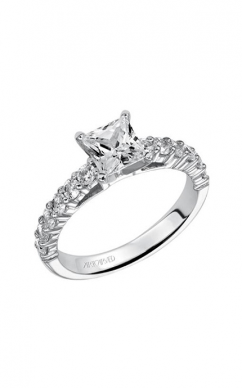 Artcarved Natalie Dia Eng Ring Wht Gold Engagement Ring 31-V240ECW-E product image
