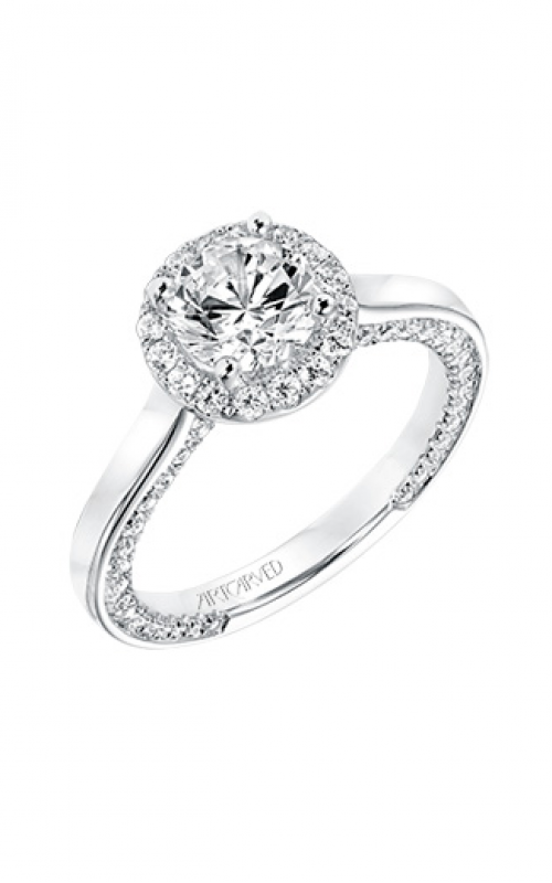 ArtCarved Contemporary Engagement ring 31-V710ERW-E product image