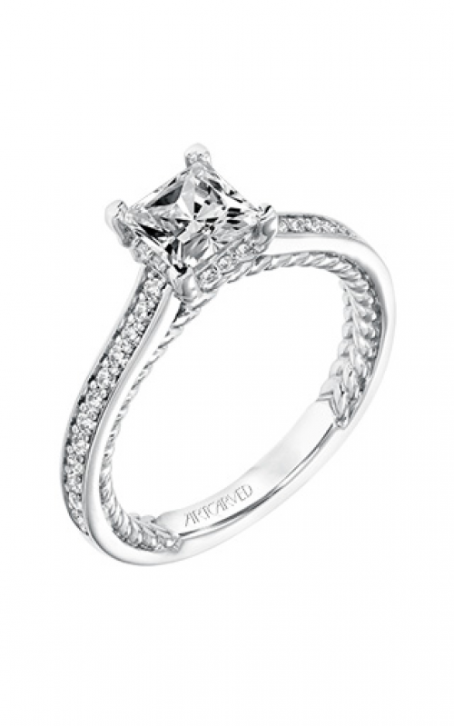 ArtCarved Engagement ring Contemporary 31-V674ECW-E product image