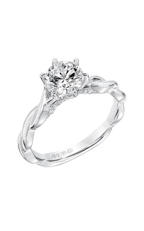 ArtCarved Contemporary Engagement ring 31-V676ERW-E product image