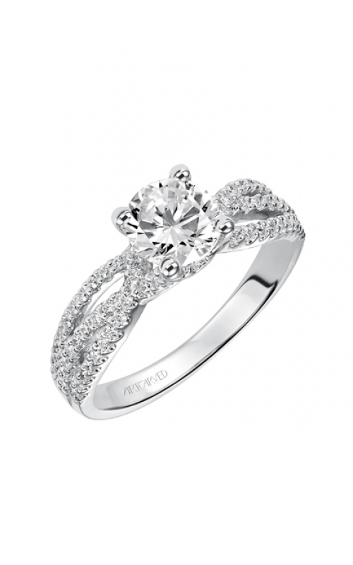 ArtCarved Engagement ring Contemporary 31-V422ERW-E product image