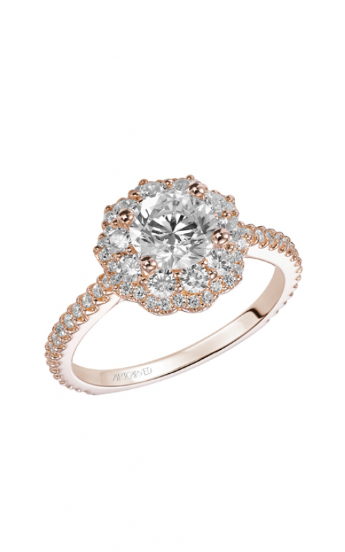 ArtCarved Contemporary Engagement ring 31-V449ERR-E product image
