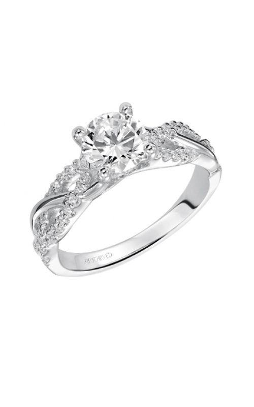 ArtCarved Contemporary Engagement ring 31-V421ERW-E product image