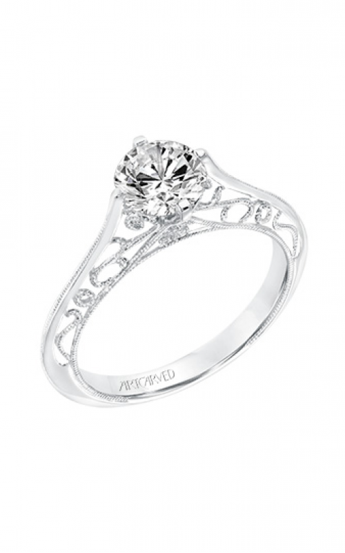 Artcarved Laurette Engagement Ring 31-V726ERW-E product image