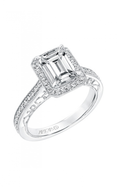 ArtCarved Engagement ring Vintage 31-V728GEW-E product image