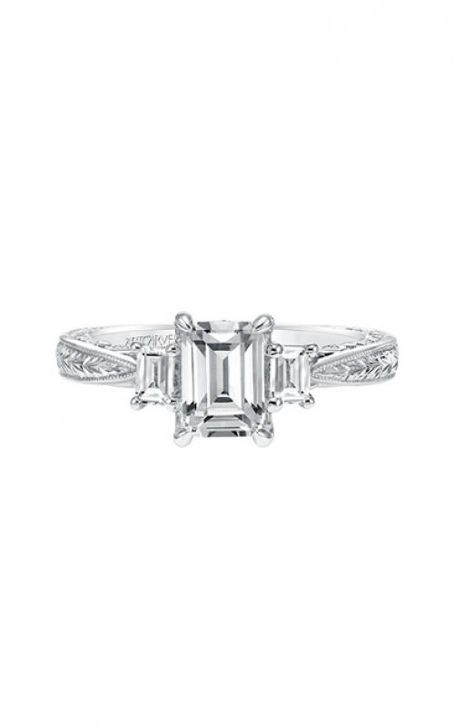 ArtCarved Vintage Engagement ring 31-V694EEW-E product image