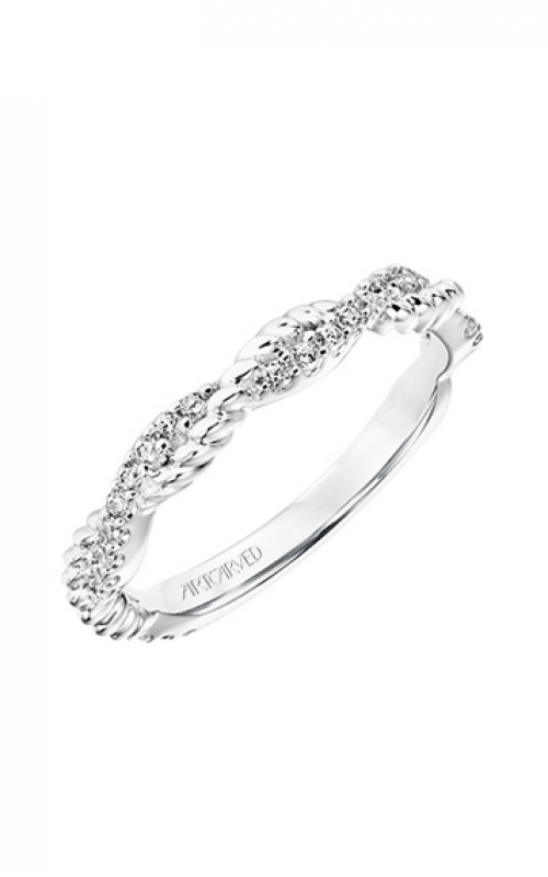 ArtCarved Contemporary Wedding band 31-V700W-L product image