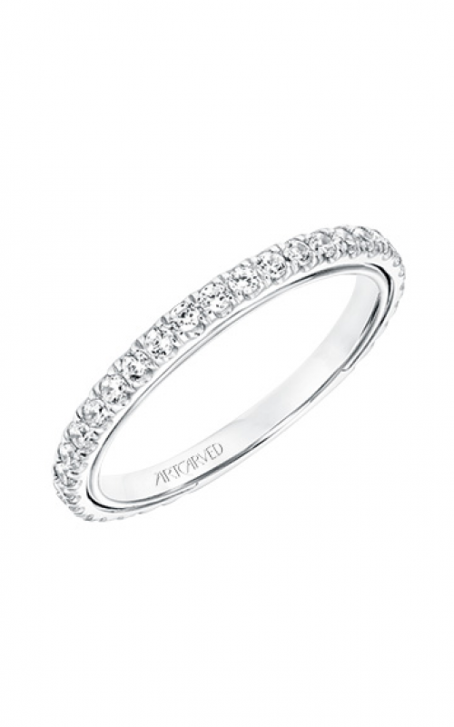 ArtCarved Contemporary Wedding band 31-V706W-L product image