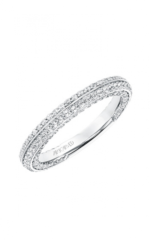 ArtCarved Contemporary Wedding band 31-V713W-L product image