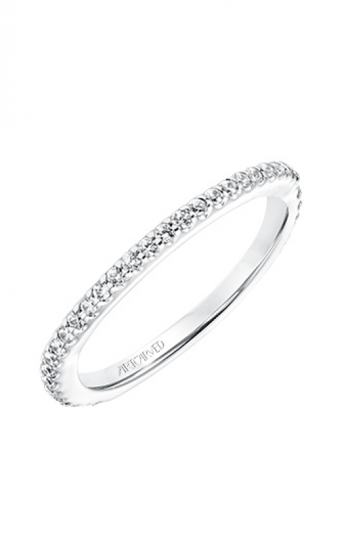 ArtCarved Contemporary Wedding band 31-V737W-L product image