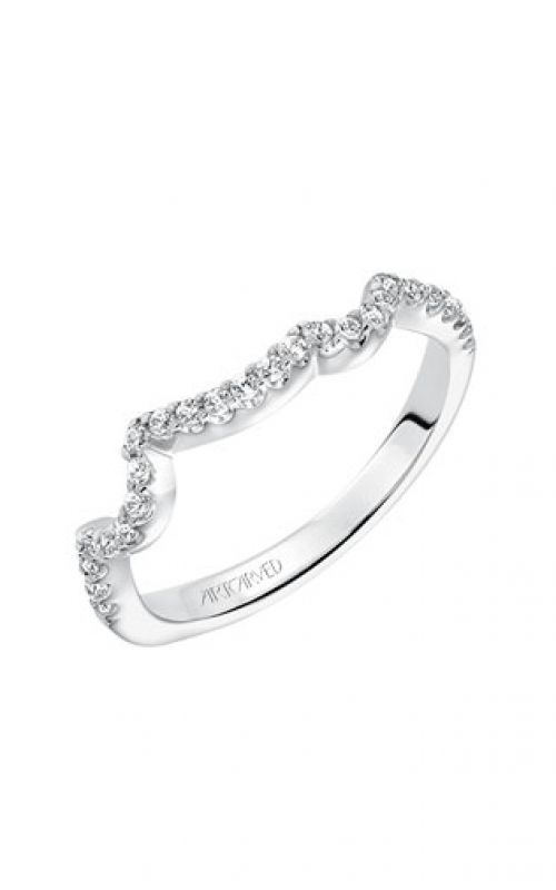 ArtCarved Contemporary Wedding band 31-V600ERW-L product image