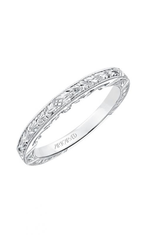 ArtCarved Vintage Wedding band 31-V695W-L product image
