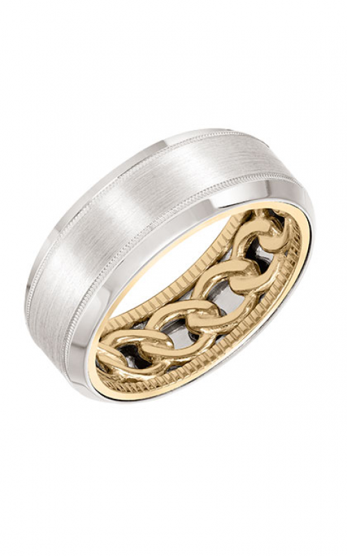 ArtCarved Contemporary Wedding band 11-WV08A8-G product image