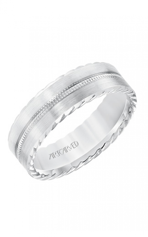ArtCarved Wedding band Engraved 11-WV8643W65-G product image