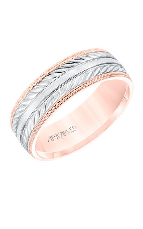 ArtCarved Wedding band Engraved 11-WV8671RW7-G product image