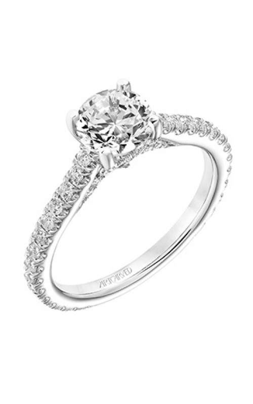 ArtCarved Classic Engagement ring 31-V746ERW-E product image