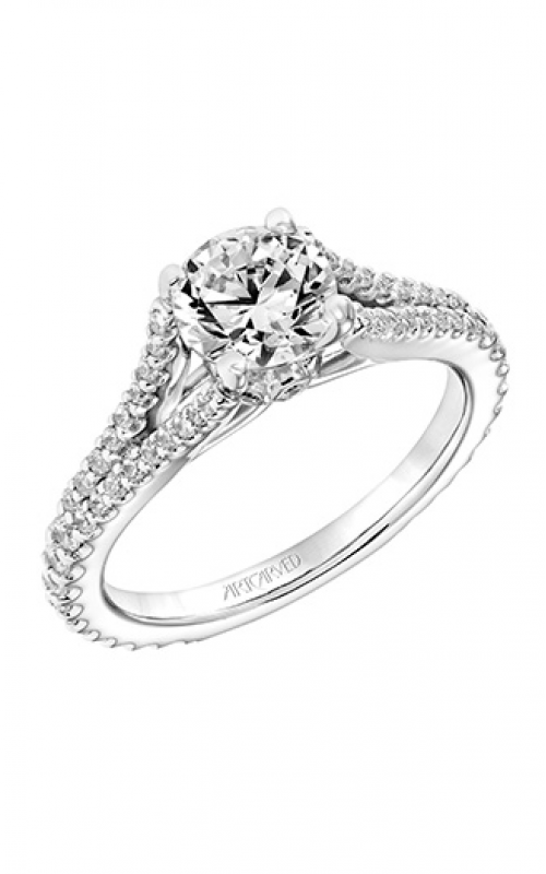 ArtCarved Classic Engagement ring 31-V747ERW-E product image