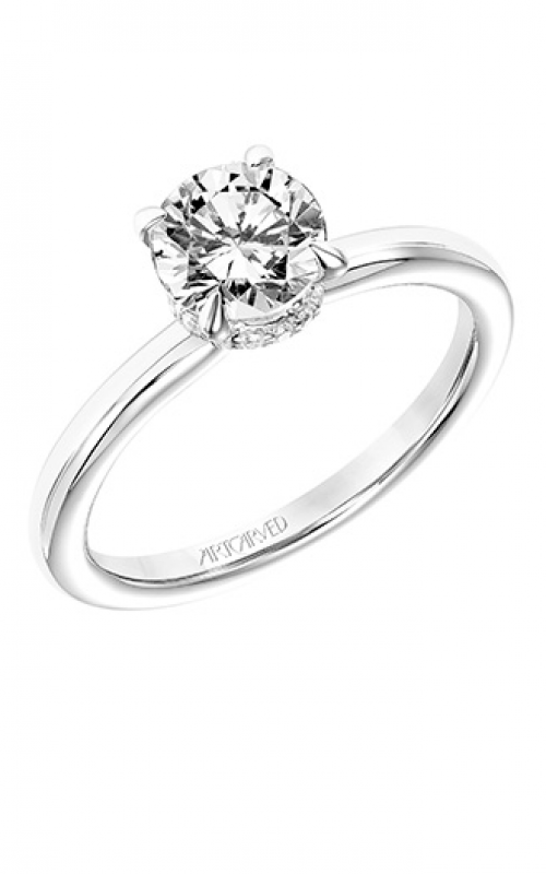 ArtCarved Classic Engagement ring 31-V748ERW-E product image