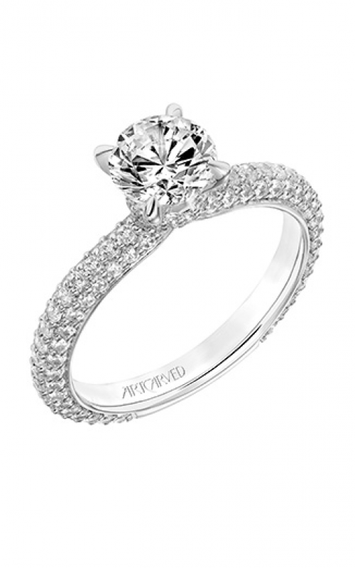ArtCarved Classic Engagement ring 31-V749ERW-E product image