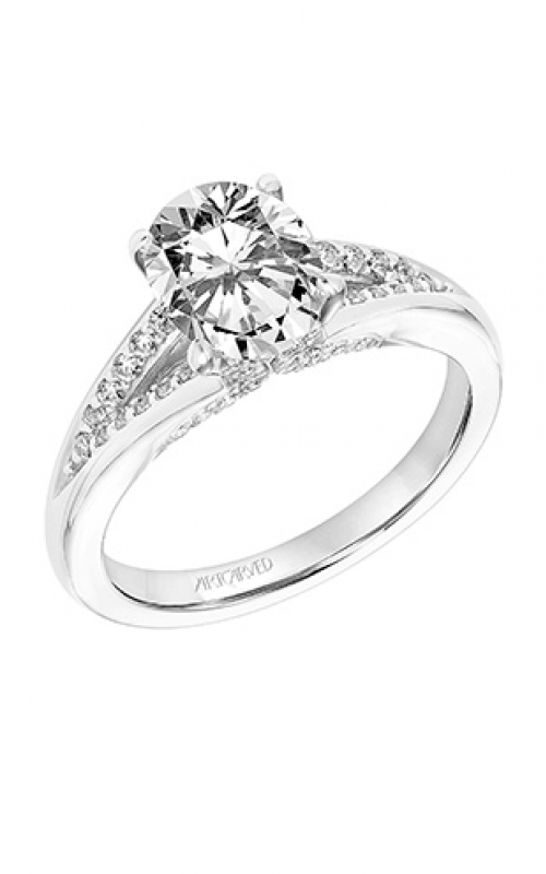 ArtCarved Classic Engagement ring 31-V750GVW-E product image