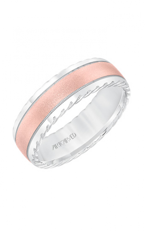 ArtCarved Engraved Wedding band 11-WV8642WR7-G product image
