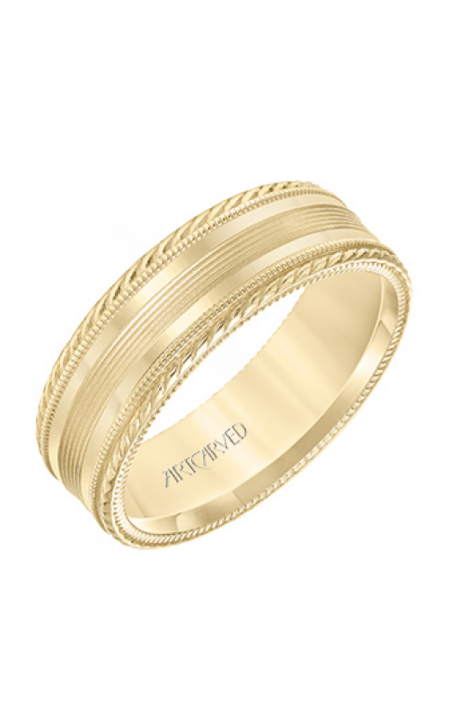 ArtCarved Engraved Wedding band 11-WV8644Y7-G product image