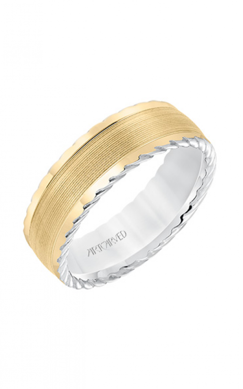 ArtCarved Wedding band Engraved 11-WV8645WY7-G product image